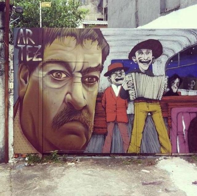 Graffiti of Serbian film