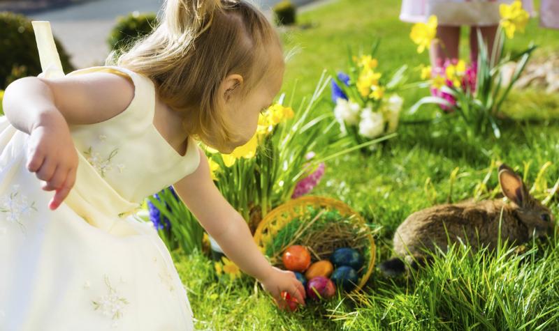Serbia Easter egg hunt