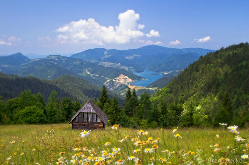 Zaovine lake Tara