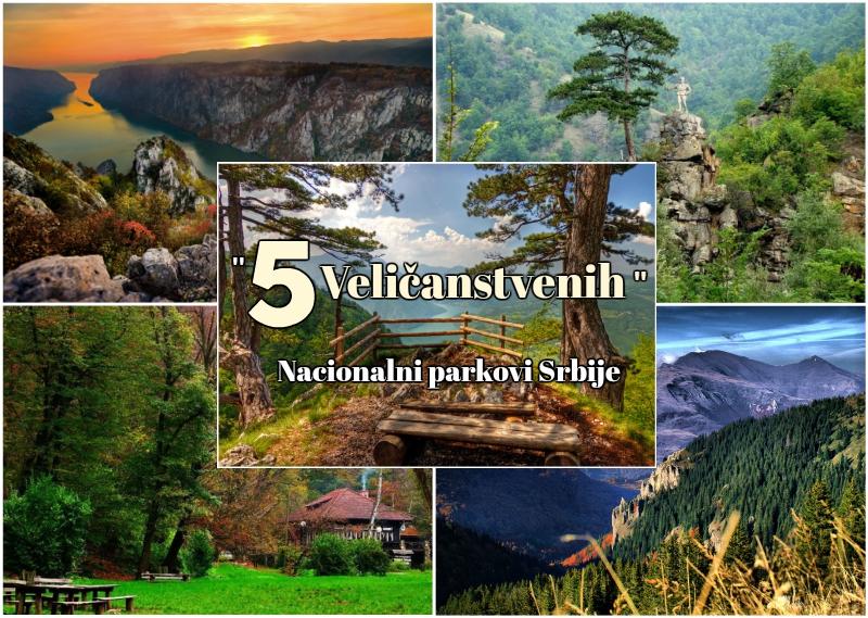 """karta nacionalnih parkova srbije 5 Veličanstvenih""""   nacionalni parkovi Srbije   Serbia.com karta nacionalnih parkova srbije"""