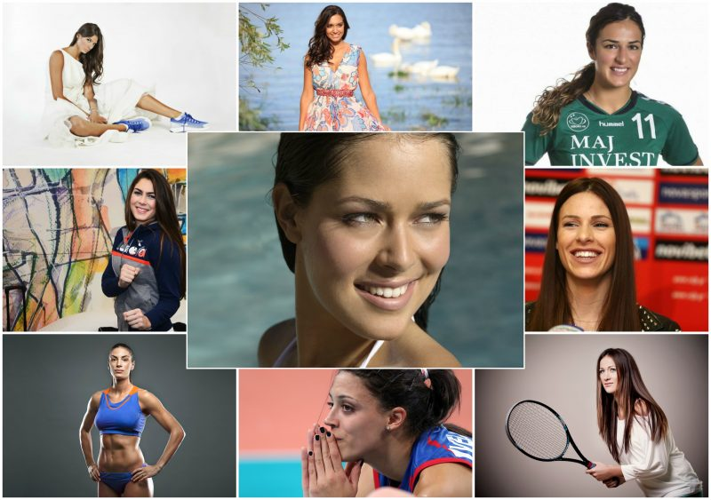 10 most beautiful Serbian female athletes 1