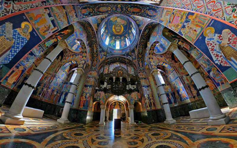 Serbian sanctity Oplenac panoramiocom